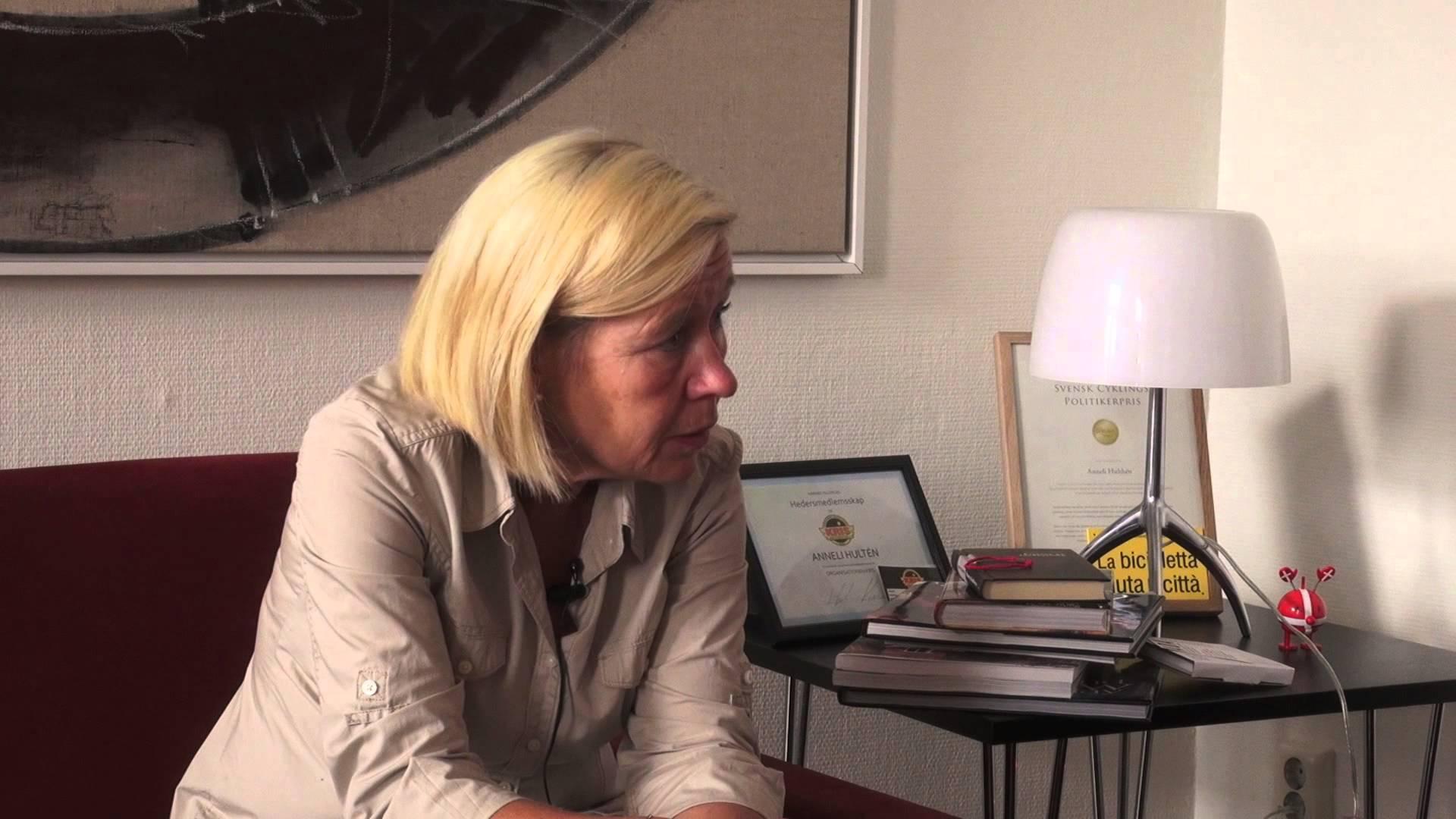 Aldrig eftermiddagar med Krisztina. Avsnitt 2: Anneli Hulthén