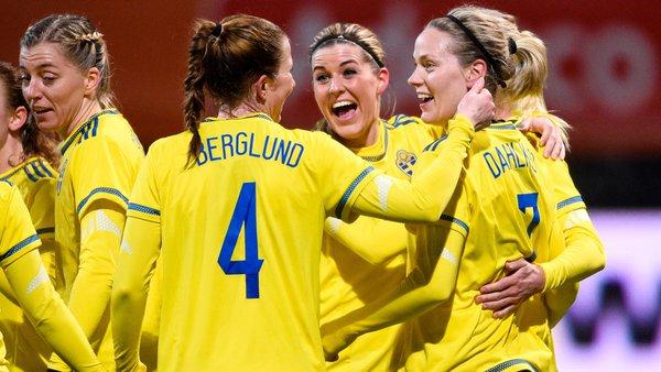 Sverige fotbollsdamer till OS final