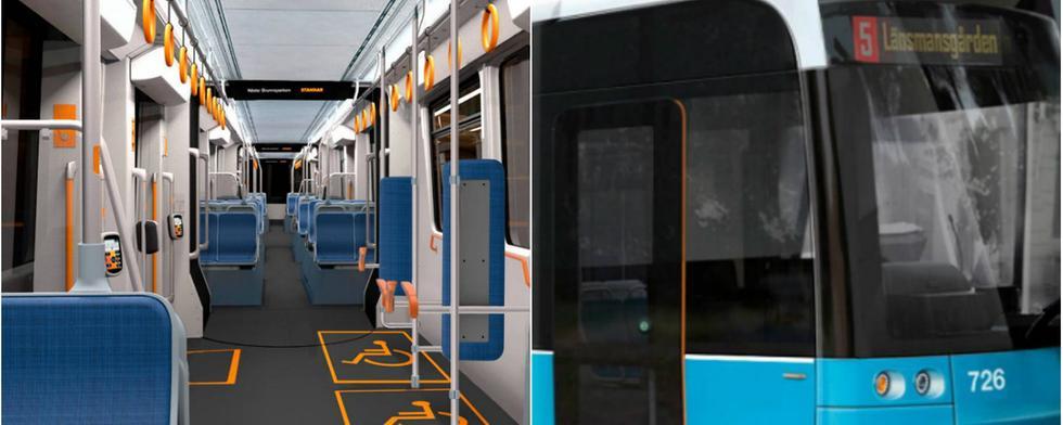 Göteborgs nya spårvagnar