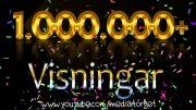 1 miljon visningar!