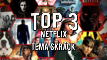 Top 3 Netflix -Tema skräck